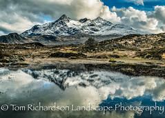 Cuillin reflection (tomrichardson931) Tags: fells lochan basteirtooth reflection mountains hills moors blackcuillin scene alba sgurrnangilean bruachnafrithe moorland scenic thecuillin mainland scotland sgurralasdair ambasteir uk europe unitedkingdom gb