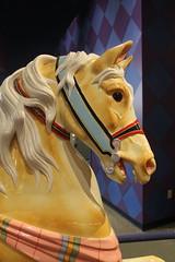 Carousel Horse (viktrav) Tags: carousel carouselhorse merrygoround merrygoroundhorse childrensmuseumofindianapolis indianapolis indiana