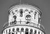 Torre de Pisa (José M. Arboleda) Tags: blancoynegro monocromático torre inclinada pisa italia eos 5d markiii ef70200mmf4lisusm jose arboleda josémarboledac