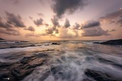 La Barranquera en compañia (Caramad) Tags: agua longexposure mar landscape isla oceanoatlantico seascape labarranquera tenerife olas piscinanatural sea rocas rocks