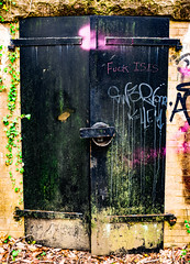 The Black Door (G.D. Jewell II) Tags: art afpnikkor1855mm13556g america abandoned abandon april baltimore davejewell davidjewell d3400 digital dslr color forthoward gdjewellii georgejewell gdjewell2nd httpswwwfacebookcomdavejewell1291 history historical historicalattraction haunted interesting interestingness image jewell kitlens light look maryland nikon nikkor nikond3400 outdoors outside outdoor old photo photography photograph photos sexy scionofhelios urbex usa us urban view black door locked lock