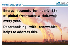 IRENA_World Water Day (International Renewable Energy Agency (IRENA)) Tags: irena infographics worldwaterday internationalrenewableenergyagency renewableenergy