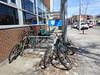 DSC05557 (olivier_martineau) Tags: outremont montreal montréal poubelle saleté police poste van horne bicyclette bike vélo quartier