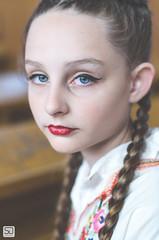 girl from Ivanovo (devke) Tags: ivanovo village girl portrait child kid woman beautiful nikond7000 nikkor50mmf18g bokeh shallowdepthoffield headshot closeup serbia vojvodina face people