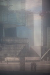 def silhouette 17  (1 sur 1) (west elsa) Tags: défense silhouette street urbain canon