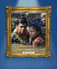 Secret love (BockoPix) Tags: kerala backwaters india thekkady sikh love secret house boat