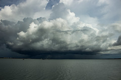 View from Stokes Hill Wharf (betadecay2000) Tags: stokes hill wharf 2017 wet season darwin northern territory wasser water cloud clouds wolken wolke storm gewitter wetter meer see sea weather weer meteo himmel sky heaven top end
