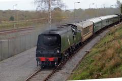 34070 Manston at Furzebrook (clare.blandford) Tags: strictly bullied gala swanage railway dorset 34070 manston furzebrook