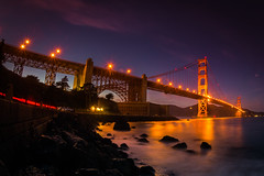 Because Light Strikes a Deal With Each Coming Night (Thomas Hawk) Tags: california goldengatebridge sanfrancisco usa unitedstates unitedstatesofamerica bridge sunset fav10 fav25 fav50 fav100