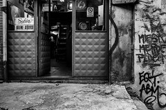 Atelier (.Sabbracadabra.) Tags: bw city street fujifilm xt2 1655 zoom wideopen f28 mono candit geometry lines light dark contrast man deep istanbul story black new old metal grey look angle