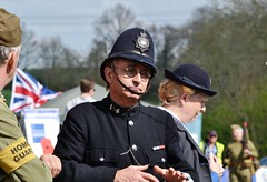 Colne Valley at War (Bazza3000) Tags: colnevalley policeman nurse homeguard reenactment