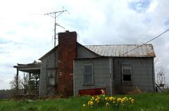 Farmhouse (~ Lone Wadi ~) Tags: farmhouse abandoned crittendencounty kentucky bluegrassstate