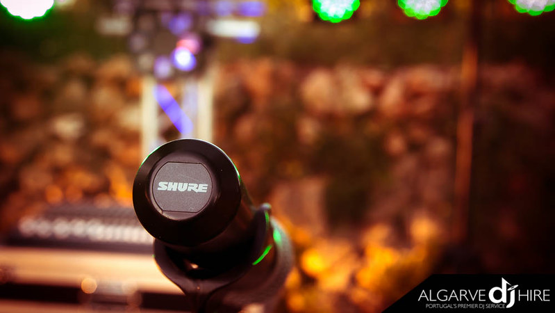 Sure Wireless PG58 Microphone