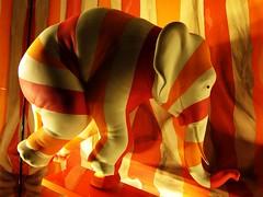 How it will end (Bosc d'Anjou) Tags: newyorkcity manhattan windowdisplay elephant chameleon gop republicanparty donaldtrump impeachment saksfifthavenue