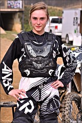 Lauren Plate (Images by A.J.) Tags: lauren plate mx women wmx motocross dirtbike athlete extreme tomahawk tmx hedgesville westvirginia wv sport ktm