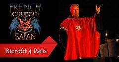 La première « Eglise de Satan » française ouvrira bientôt ses portes à Paris – 6.000 fidèles sont attendus...... (Maison de l'Alchimiste) Tags: satan satanic paris rituel hautemagie magic magie sorcellerie sacrificehumain 666 croix croixrouge