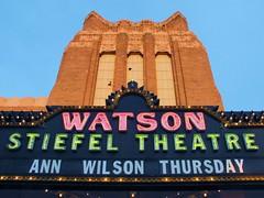 Watson Stiefel Theatre (franciskato) Tags: annwilsonofheart stiefeltheatre salinaks salinakansas