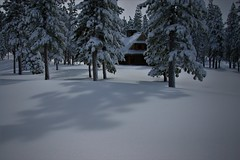 Gonna' Need Snowshoes (The VIKINGS are Coming!) Tags: cabin baita hutte chalet hytte izba alpine freshsnow