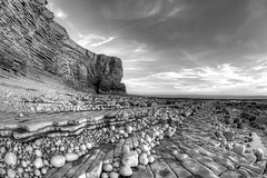 South Westerlies (pauldunn52) Tags: nash point black withe round pebbles shore platforms liassic limestone headland glamorgan heritage coast wales
