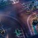 Vegas Traffic at Night