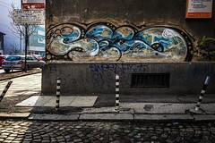 As seen (Melissa Maples) Tags: софия sofia българия bulgaria europe apple iphone iphone6 cameraphone winter streetart art graffiti tag text bulgarian sign road street