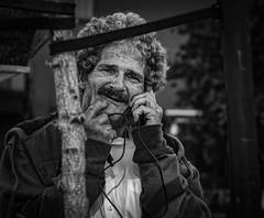 DSC04877 (gdo.bullseye) Tags: streetphotography bw blackandwhite sanfrancisco conversation homeless usbcable