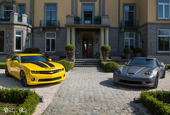 Chevrolet camaro vs Chevrolet Corvette C6 Z06 (Raf Debruyne) Tags: chevroletcamaro chevroletcorvette chevrolet camaro corvette c6 z06 c6z06 canon canoneos5dmk3 canoneos5dmkill canoneos5dmkiii 5dmkiii 5dmarkiii 5d eos 24105mmf4 24105mm canon24105mmf4 canonef24105mmf4lusm kasteeldehoogenweerth kasteel hoogenweerth maastricht car carshow worldcars dreamcar v8 netherlands thenetherlands nederland debruyneraf debruynerafphotography rafdebruyne auto automobile voiture