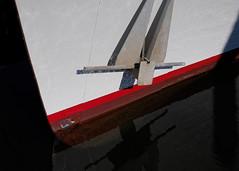 Waterline (Steve Bosselman) Tags: boat bow anchor