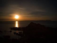 An Ending (stephen cosh) Tags: ayrshire dunure hasselbladx1d landscape longexposure mediumformat scotland seascape stephencosh sunset xcd45mm