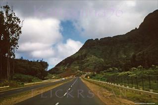 Pali Highway Pre-Tunnel 1956