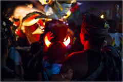 Little devil and Ogoh-Ogoh (beninfreo) Tags: bali indonesia ogohogoh effigy parade festival pngrupukan nyepi saka hindu devil monster new year newyear canon5d3