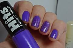 Desafio dos Clássicos #7 - Quero Cia. (Raíssa S. (:) Tags: esmalte unhas nails nailpolish naillacquer glitter nailart nailpainting lacquer roxo purple hits cremoso marchetti desafiodosclássicos