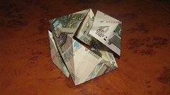 cube (Hare_ru) Tags: moneygami cube modular