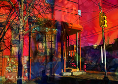 Edge (brillianthues) Tags: philadelphia urban badlands colorful collage photography photmanuplation photoshop