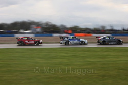 Ashley Sutton in race three at the British Touring Car Championship 2017 at Donington Park