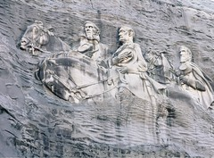 Chiseled In Stone .... (~ Cindy~) Tags: three generals davis lee jackson georgia mountain stone april 2015