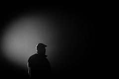 Out Of Shadows (espressoDOM) Tags: portrait bw selfportrait blackwhite profile hiphop selfie assasin theprofessional nocolor espressodom timetraveler flickranniversary 52weeks 9years 10yearanniversary thekiller 31015 meuswe