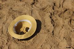 Relax. (harshithjv) Tags: beach glass hat sunglasses canon kitlens sunglass gokarna ombeach 600d uttarakannada northcanara canon600d coolingglasses