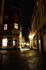Mainz (Pascal Schuth) Tags: auto winter light night germany deutschland licht nacht mainz verkehr dunkel streifen langzeitbelichtung