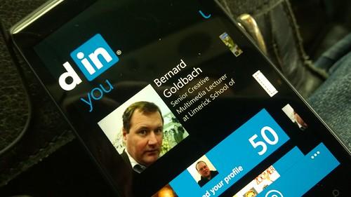 LinkedIn Lumia