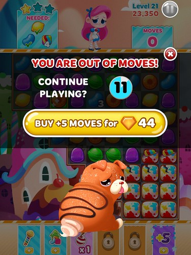 Candy Blast Mania Save Me!: screenshots, UI