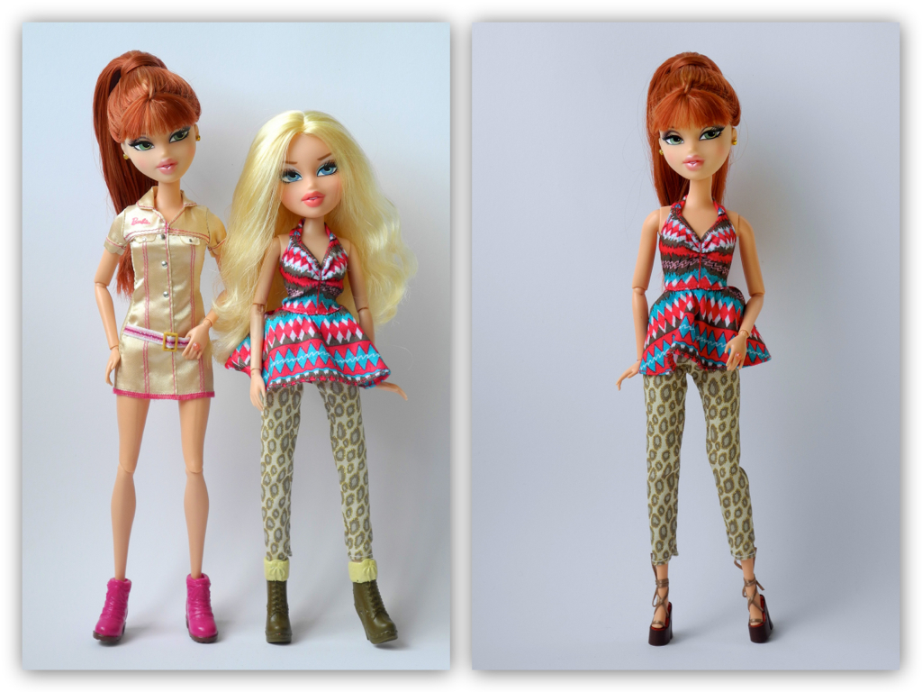 compare and contrast of barbie doll The theme in barbie doll is societies flawed idea of female perfection in contrast, the theme in mirror is women's flawed view of themselves the literary terms.