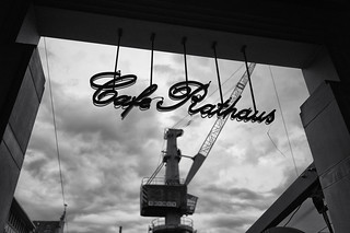 Cafe Rathaus & the Hafenkran