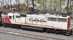 CEFX#6008 EMD SD60 ROSTER EX-SOO LINE NORTHWOOD,OHIO 5-10-14 SATURDAY (penn central 74) Tags: sooline soo roster cefx 051014 northwoodohio exsooline emdsd60 cefx6008