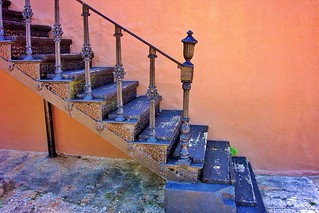 Rockford Alabama ~ County Seat ~ Coosa County ~ Case Iron Steps ~ HDR