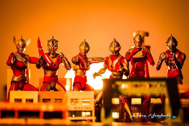 【玩具人Jono Heartarts投稿】Ultra-Act 超人兄弟全員集合 - 光臨! 來自M78星雲的你們!