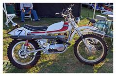 OSSA 250 Pioneer Enduro 1974 (baffalie) Tags: old classic bike vintage italia expo retro motorbike moto italie ancienne classicas