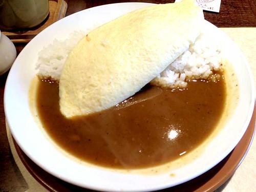 チーズオムレツカレー