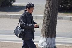 Walking (lathamdesign) Tags: travel people tourism kp northkorea pyongyang dprk