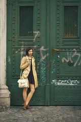 City girl (milanvopalensky) Tags: door city portrait woman girl beautiful beauty fashion canon square 50mm model friend pretty czech prague style praha 600d